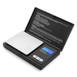 200g/0,01g Taschenwaage - Akale Digitale Taschenwaage, 200 x 0,01 g, Taschenwaage Feinwaage Digitalwaage Goldwaage Münzwaage - 1