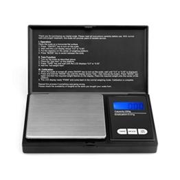 200g/0,01g Taschenwaage - Ascher Digitale Taschenwaage, 200 x 0,01 g, Taschenwaage Feinwaage Digitalwaage Goldwaage Münzwaage - 1