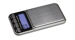 Digital Taschenwaage 0,1 / 1000 Gramm [Lindner 8047], Präzision bis 0,1g, Wägebereich max. 1000 g - 1