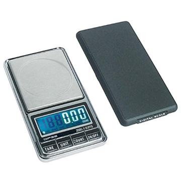 DIPSE USB 200 - Digitale Feinwaage / Taschenwaage mit USB-Anschluss ohne Abschaltautomatik die in 0,01g Schritten präzise bis 200g wiegt - 1