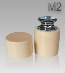 G & G M2 Eisen 100g Kalibriergewicht Prüfgewicht inkl. Schutzhülse/Kalibriergewicht für Digitalwaage von Waagen 100g - 1