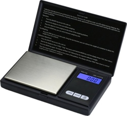 Smart Weigh SWS100 Digitale Taschenwaage Feinwaage Digitalwaage Goldwaage Münzwaage 100 x 0.01g - 1